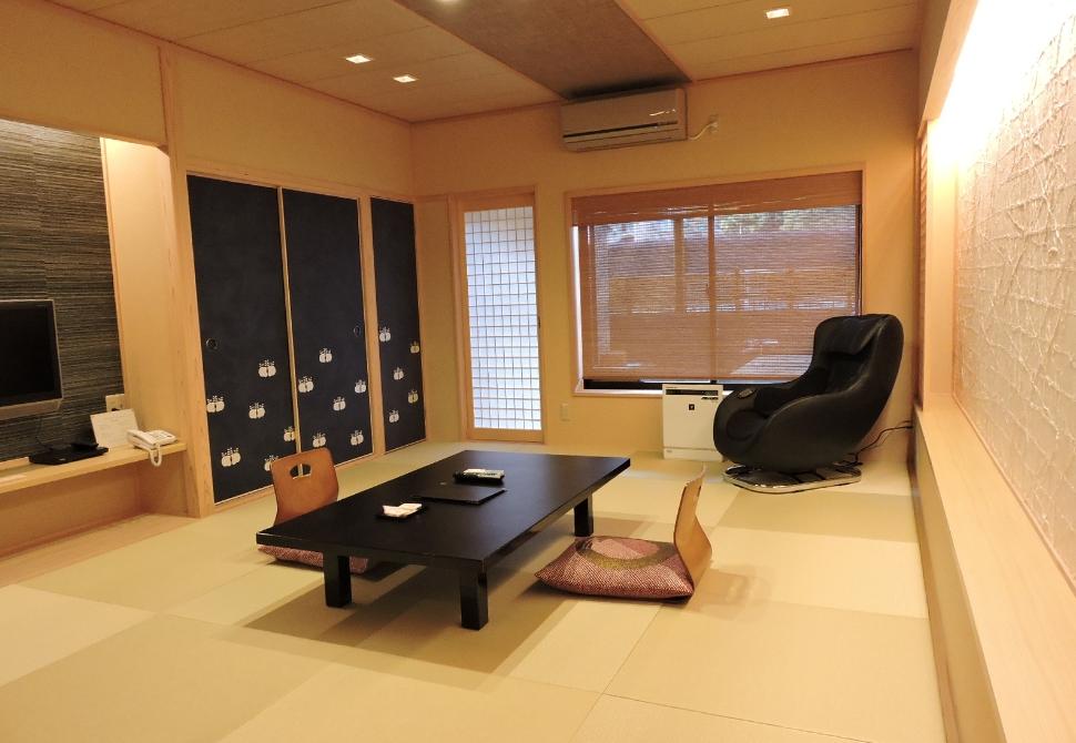 客室露天風呂付 12畳和室